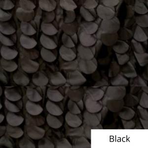 black whimsy linen