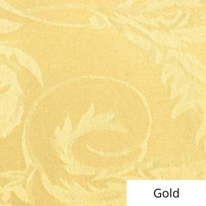 Gold Melrose Damask Linen