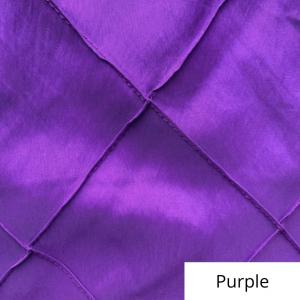 purple wide pintuck linen
