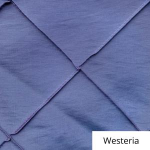 westeria wide pintuck linen