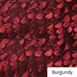 burgundy whimsy linen