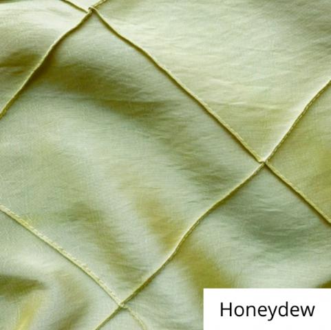 honeydew wide pintuck linen