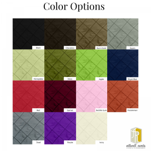 silk pintuck color options