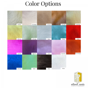 Silk Color Options