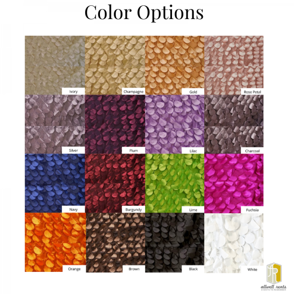 Whimsy Color Options