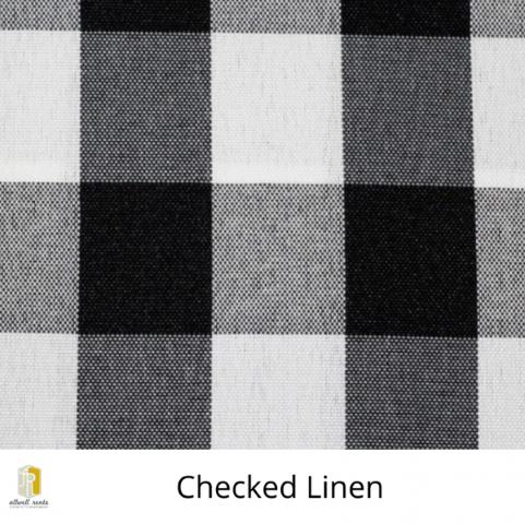 Checked Linen Rental