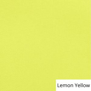 Lemon Yellow Polyester Linen Rental