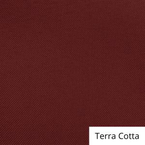Terra Cotta Polyester Linen