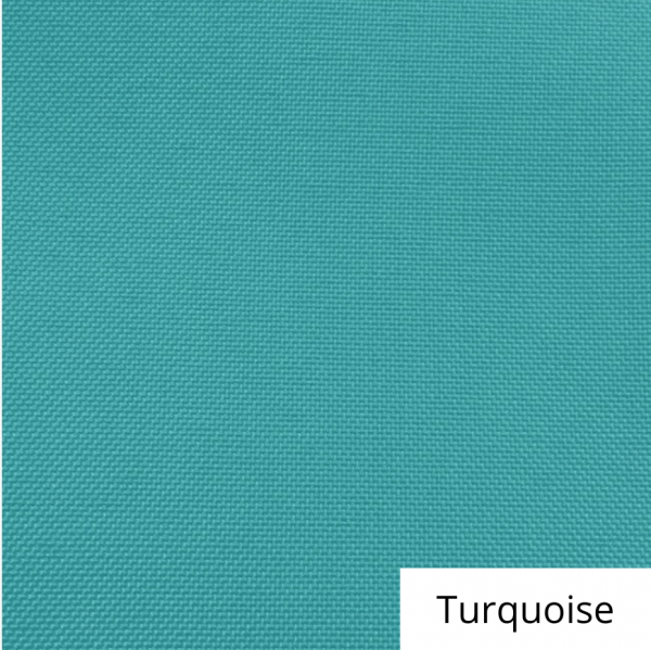 Turquoise Polyester Linen