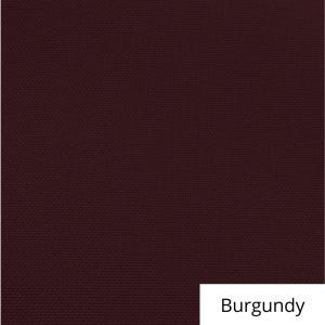 Burgundy Polyester Linen Rental