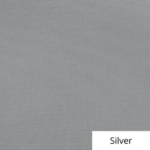 Silver Polyester Linen