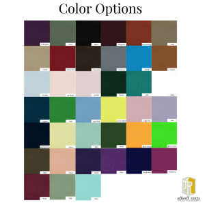 Polyester Color Options
