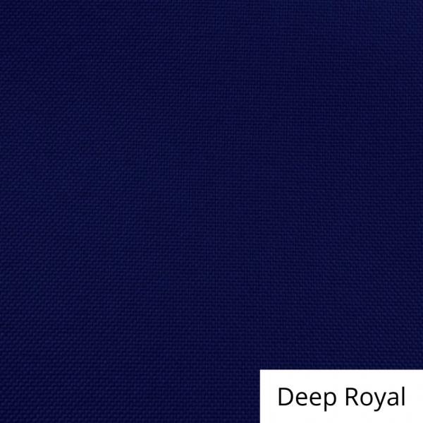 Deep Royal Polyester Linen