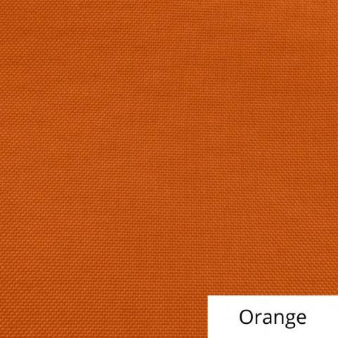 Orange Polyester Linen