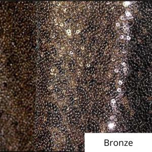 Bronze Sequin Linen