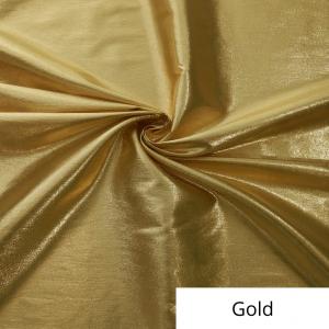 Gold Lame Linen