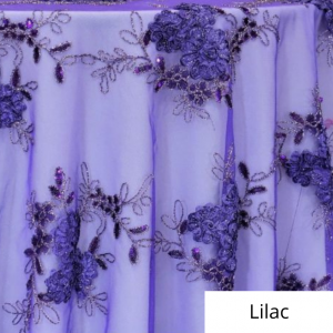 Lilac Ribbon Lace