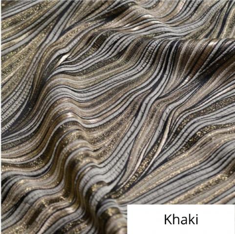 Khaki allure linen