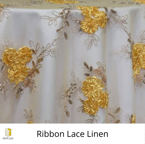 Ribbon Lace Linen