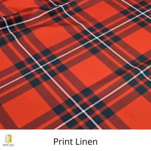 Print Linen Rental