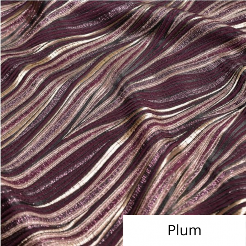 Plum allure linen