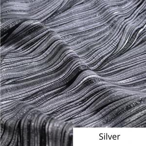 Silver allure linen