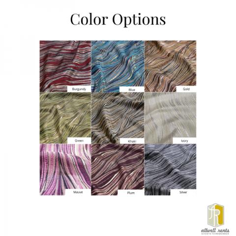 Allure Linen Color Options