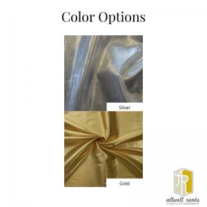 Lame Linen Color Options