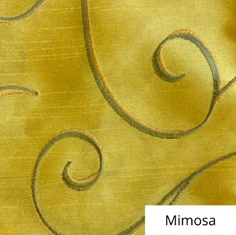 Mimosa Silk Swirl Linen