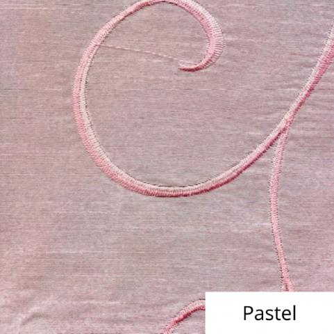 Pastel Silk Swirl Linen