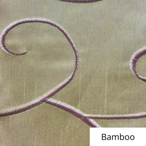 Bamboo Silk Swirl Linen