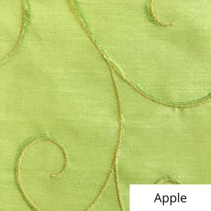 Apple Silk Swirl Linen