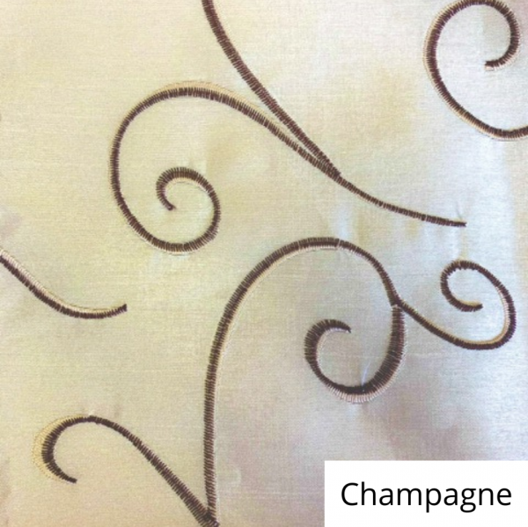 Champagne Silk Swirl Linen