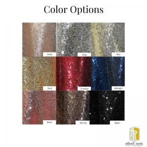 Sequin Linen Color Options