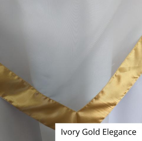 Ivory Gold Elegance