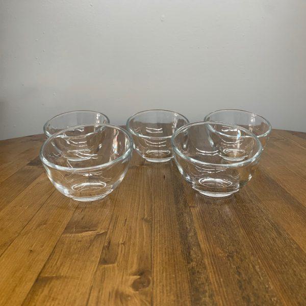 glass slant bowl